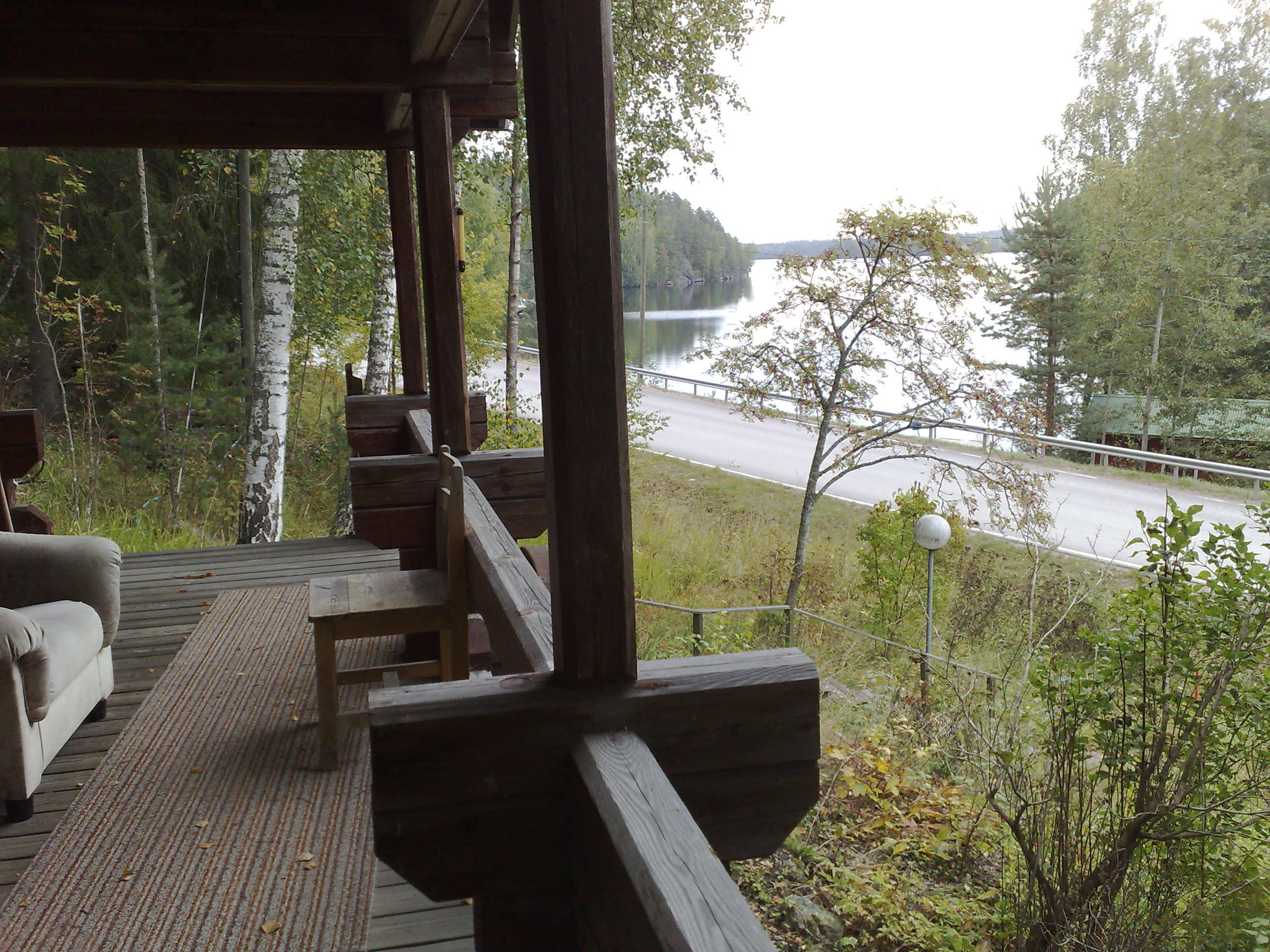 Jylhät maisemat vettäpitkin pääsee Heinolaan että Jyväskylään tai Lahteen