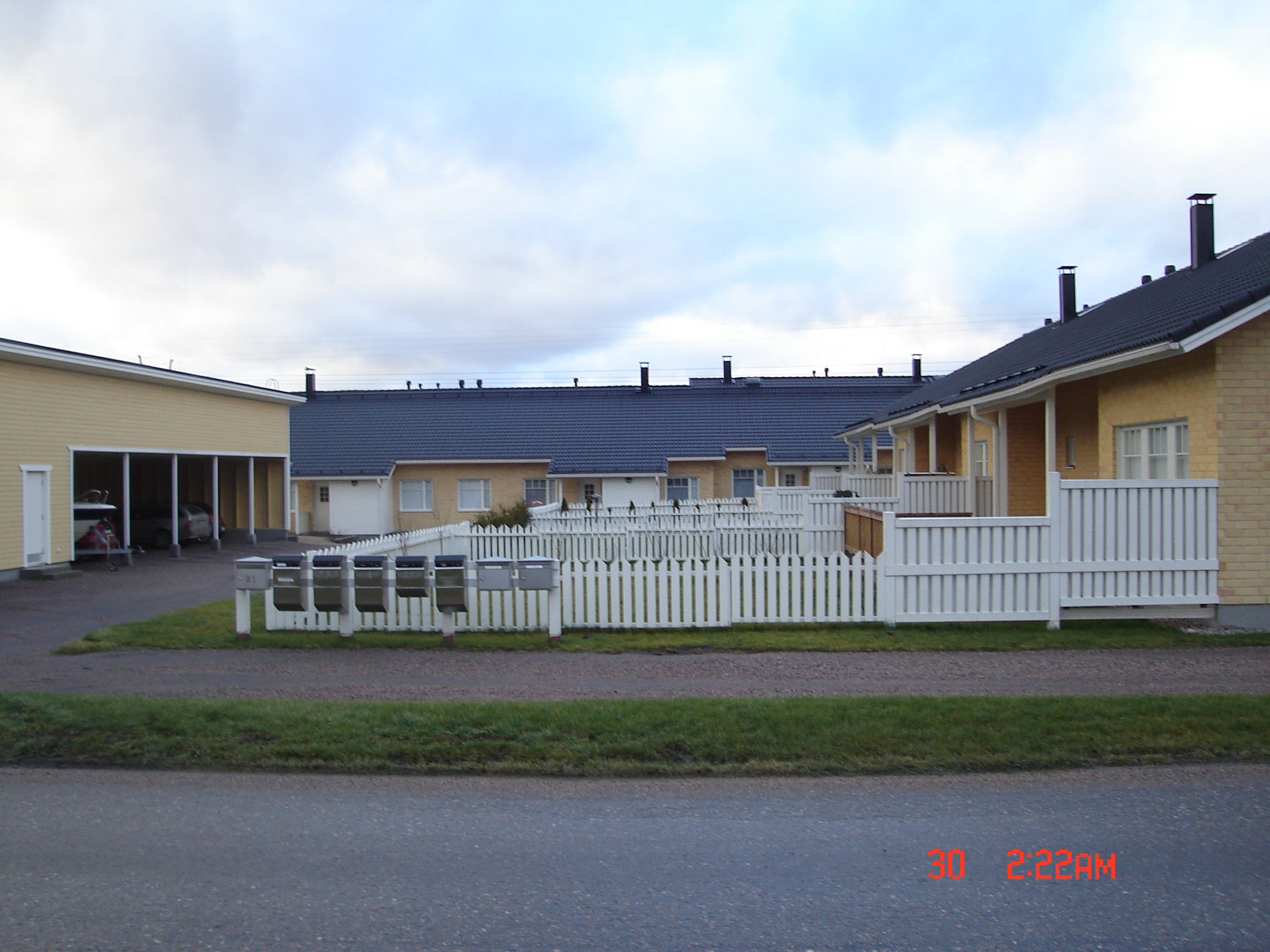 Työt käynnissä Kukkilassa helmikuu 2009  Lahti